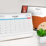 Popular Calendar Themes for 2018