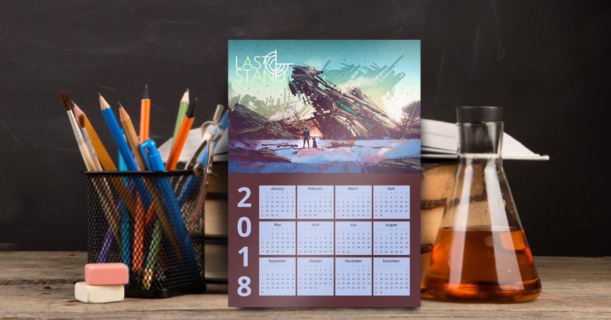 Sci Fi and Fantasy Calendars