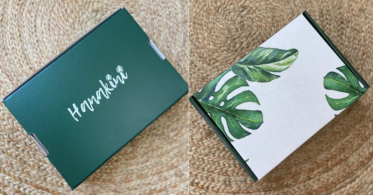 Hanakini Swim custom mailer boxes
